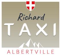 Richard Taxi Albertville Logo